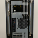 Der Rundum Lautlos PC ist natürlich wieder zum Spielen geeignet, dafür sorgen die Nvidia 9800 GX2, die Creative X-Fi, 4 GB RAM und nicht zuletzt der Intel Quad Core (QX9650), der auf einem Asus Striker II Extreme läuft.