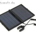 Die beiden Photovoltaik-Zellen liefern bei optimaler Sonneneinstrahlung eine Leistung von 4,75 Watt.