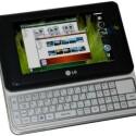 Das LG XNote B831 lockt mit einer vollständigen Tastatur und einem 4,8-Zoll-Display.