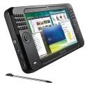 Samsung Q1 Ultra Premium mit gespliteter Tastatur und Touchscreen.