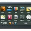 """Der Grundig MPixx 9000 ist bisher einer der wenigen Movie-Player auf dem Markt mit Touchdisplay-Technologie. Sein 3-Zoll-Display bietet eine WQVGA-Auflösung mit 400x240 Pixeln und nimmt fast die gesamte Oberfläche des Players ein. Die Steuerung erfolgt intuitiv anhand einer grafischen Benutzeroberfläche, die beim MPixx 9000 als """"Sliding User Interface"""" den schnellen Wechsel zwischen den einzelnen Funktionsebenen ermöglicht.   Zu den technischen Features des nur 70 Gramm schweren MPixx 9000 zählen unter anderem ein FM-Radio mit Aufnahmefunktion, Line-In-Recording mit Umwandlung in das WMA-Format, 3D-Sound und Bass Boost sowie die Anzeige von Liedtexten und Untertiteln. Darüber hinaus verfügt das Gerät über Memo-, Text- und Wörterbuchfunktion.   Der Grundig MPixx 9000 ist ab sofort erhältlich, die unverbindliche Preis-empfehlung beginnt bei 149,99 Euro."""