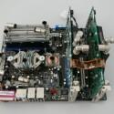 Mainboard mit Wasserkühlern von Aqua Computer