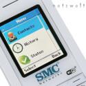 Bis auf Instant Messaging bietet das WSKP100 sämtliche Kommunikations-Funktionen des Skype-Clients.