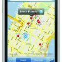 Mit der integrierten GPS-Funktion wird das iPhone auch noch zu einem Navigationsgerät.
