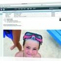 Die Webseite me.com ist in Apple-Optik gehalten.