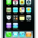 Der Startbildschirm des neuen iPhone 3G sieht dem des alten iPhones sehr ähnlich.