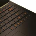 Tastatur des Laptop-Prototypen