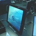Tragbarer Flachbildschirm von Shuttle