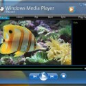 Auch dieses Konzept eines neuen Windows Media Players ist komplett in Glas gefasst.