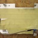 Das Malerkrepp schützt vor Kratzer und lässt sich leicht entfernen.