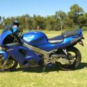 Ebenfalls zum Verkauf steht diesen 1996er Kawasaki Ninja ZX6R.