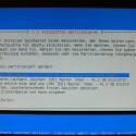 Festplatte formatieren und Linux Dateisystem installieren