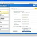 Sparsam: NFS-Protokoll und Active Directory bietet das Buffalo-NAS nicht. Im Webinterface lässt sich immerhin die Ethernet-Framegröße einstellen.