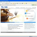 "Das Webinterface der TS-109 Pro stellt wichtige Funktionen wie den FTP-Server (""Web File Manager"") über separate Menüpunkte bereit."