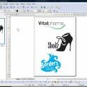 Mit dem Zeichenprogramm Draw sind Zeichnungen in 2D- und 3D möglich.