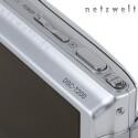 Eine Kamera mit nur drei Tasten? Die Sony DSC-T200 wird hauptsächlich über ihr berührungsempfindliches Display bedient.