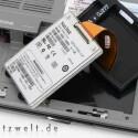 Flash-Speicher in Reinstform: SanDisk SSD UATA 5000 1.8