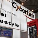 CyberLink stellte Media Deluxe auf der Messe vor.