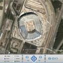 Auf der Google-Earth noch längst nicht fertig