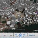 Lücke zwischen Digital-Gebäuden