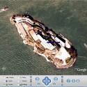 Insel Alcatraz in der Bucht von San Francisco
