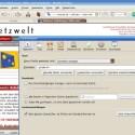 Himmlischer Browser-Beistand.