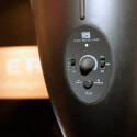 Die Lautstärke und der Betriebsmodus kann direkt an der Lampe eingestellt werden.