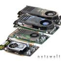 Bereits dem Grafikprozessor der GeForce 8600 GTS entlockten wir ohne größeren Aufwand eine Taktsteigerung von satten 100 Megahertz. Doch selbst das ist nichts im Vergleich zur GT-Variante. Mit nur grob ermittelten 730 Megahertz liegt die GeForce 8600 GT am Ende fast sage und schreibe 200 Megahertz über dem Standardwert.