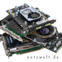Im Gegensatz zu den schnelleren Kollegen GeForce 8800 GTX, GeForce 8800 GTS und GeForce 8600 GTS braucht die GeForce 8600 GT nicht etwa zwei oder einen Stromanschluss, sondern überhaupt keinen.