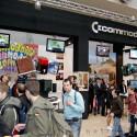 Obwohl Innovation anders aussieht, war der Commodore-Stand gut besucht.