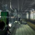 Showdown an der U-Bahn. nur im letzen Moment entkommen Kane und Lynch aus dem Untergrund.