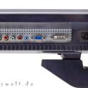 DVI, D-Sub, Composite, Component & Co.: Das Anschlussangebot macht fast wunschlos glücklich, bloß einen USB-Hub sucht man vergebens.