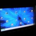 Windows bei Nacht auf dem Display des CID 650. (Bild: carputermania.gr)