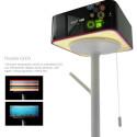 Eine elegante Möglichkeit Informationen in Wohnumgebungen darzustellen ist das Konzept Turning Lamp des Designers Seungchan Lee.
