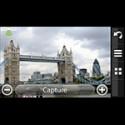 Auf Knopfdruck schießt die eingebaute Kamera ein Bild. Die exakten Positionsdaten werden dabei direkt mit gespeichert.