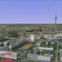 Im Hintergrund ist deutlich der Fernsehturm zu sehen