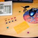 Mit wenigen Handgriffen lässt sich der Schreibtisch in ein Eingabe-Medium verwandeln