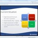In der Web-Version von Office 14 können Sie PowerPoint-Präsentationen nicht nur erstellen und kontrollieren, sondern auch bildschirmfüllend zeigen.