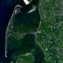 Sylt aus dem LandSat 7 Satelliten