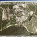 Disneyland aus der Luft