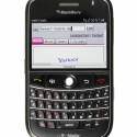 Der Blackberry Bold 9000 ist der erste Blackberry mit HSDPA. Er verfügt neben der kleinen Tastatur auch über einen GPS-Empfänger und ein TFT-Display mit einer Auflösung von 480 x 320 Pixeln.