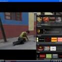 Bei Blinkx BBTV klappt das Menüp schrittweise nach oben auf. Teilweise müssen Sie etwas länger warten, bis die entsprechenden Grafiken erscheinen.