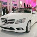 Weiße Mercedes-Pracht bei Harman/Kardon