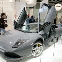 Keine graue Maus: geöffneter Lamborghini Murcielago