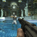 Schreck-Sekunde: Ein Gegner nimmt die 007 in Visier