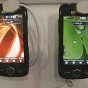 Zur Austattung des Smartphones gehören neben dem leuchtkräftigen Touchscreen unter anderem GPS, Bluetooth und WLAN.