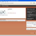 Andere Besucher können Ihren Webserver mit jedem beliebigen Browser aufrufen, hier mit Mozilla Firefox.