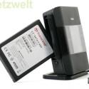 So kann der DIR-685 etwa eine SSD-Festplatte aufnehmen und diese im Netzwerk als Speicherplatz zur Verfügung stellen.