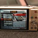 Genauso wie mit der EX Z-90 lassen sich HD-Videos drehen.