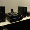 Sonys neues Hifi-System Giga Juke NAS-SC500 PK speichert die MP3-Sammlung auf einer 160 Gigabyte großen Festplatte.